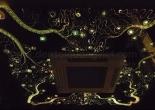 Patterned fiber optic ceiling 4