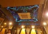Patterned fiber optic ceiling 6