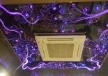 Patterned fiber optic ceiling 7