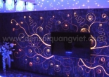 Patterned fiber optic wall 1