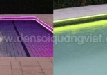 Pool wall and steps decoration 6