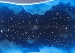 Star ceiling cloud painting 1