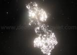 Star ceiling cosmic dust 2