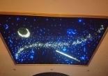 Star ceiling galaxy moon shooting star 1