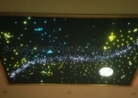 Star ceiling galaxy moon shooting star 3
