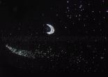 Star ceiling galaxy moon shooting star 5