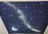 Star ceiling galaxy moon shooting star 7