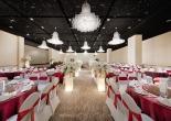 Wedding center star ceiling 1
